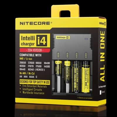Nitecore I4 Battery Charger boxed