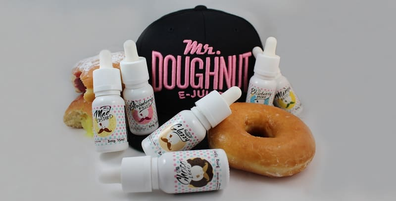 Mr Doughnut Flavour Range