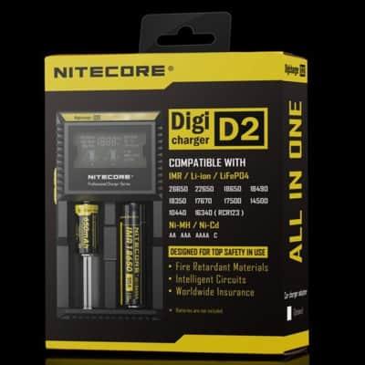 Nitecore D2 charger Vaperite