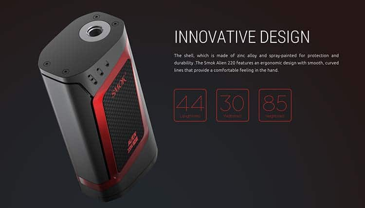 Smok Alien Kit Specifications