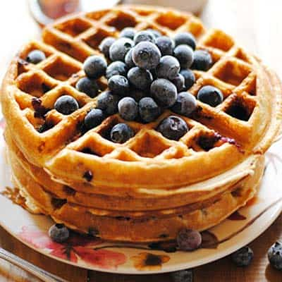 Flavor West - Blueberry Graham Waffle
